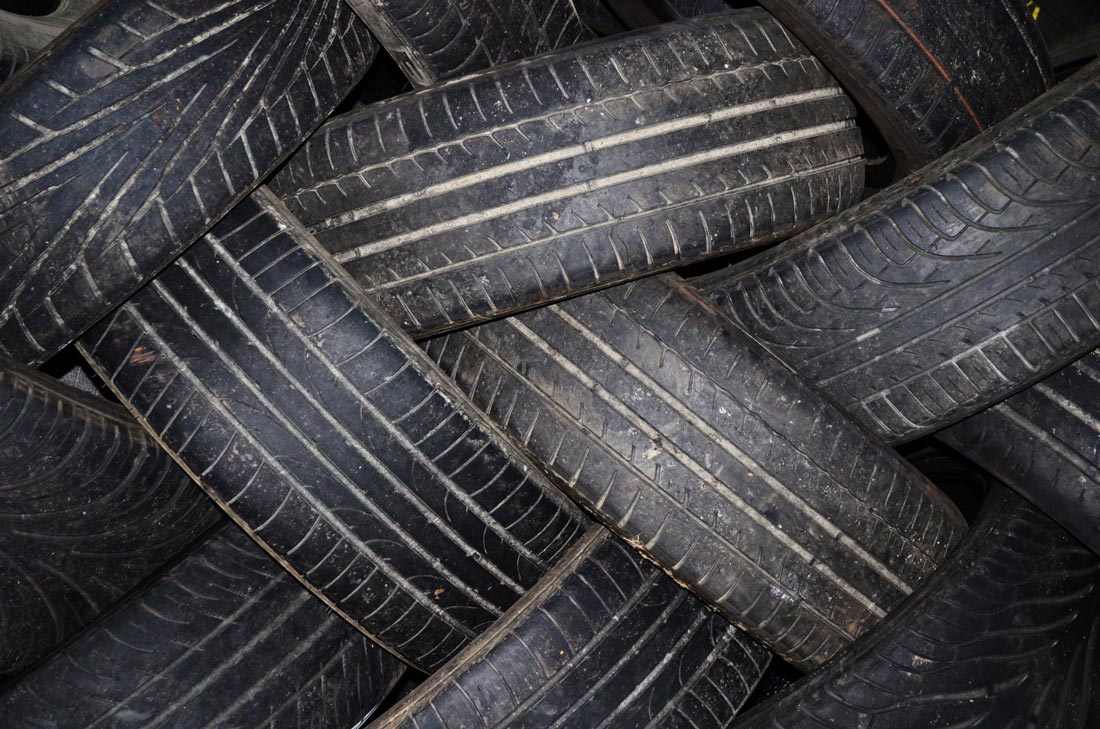 Operation Rural Tyre Recycling Bushblock